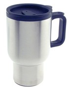 Engraved Gift : Insulated Travel Mug-Stainless Steel