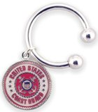 Engraved Gift : Coast Guard  - Military Service Key Chain
