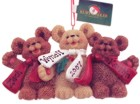 Click for Larger Image -- Bear Family Christmas Ornament