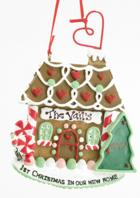 Click for Larger Image -- 1st Christmas Gingerbread House