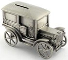Engraved Gift : Ole Time Motor Car Bank
